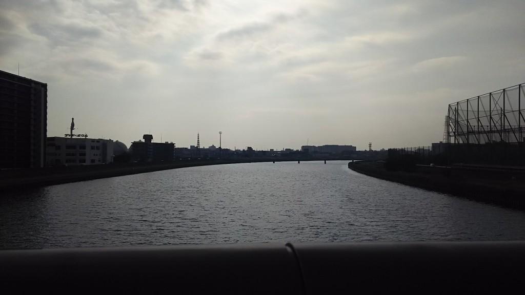 神洲橋からの神崎川