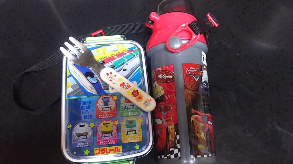 幼稚園で使う食器類