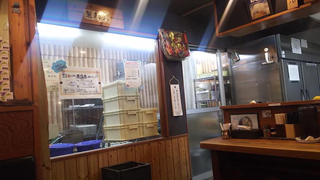 塩元帥 製麺室