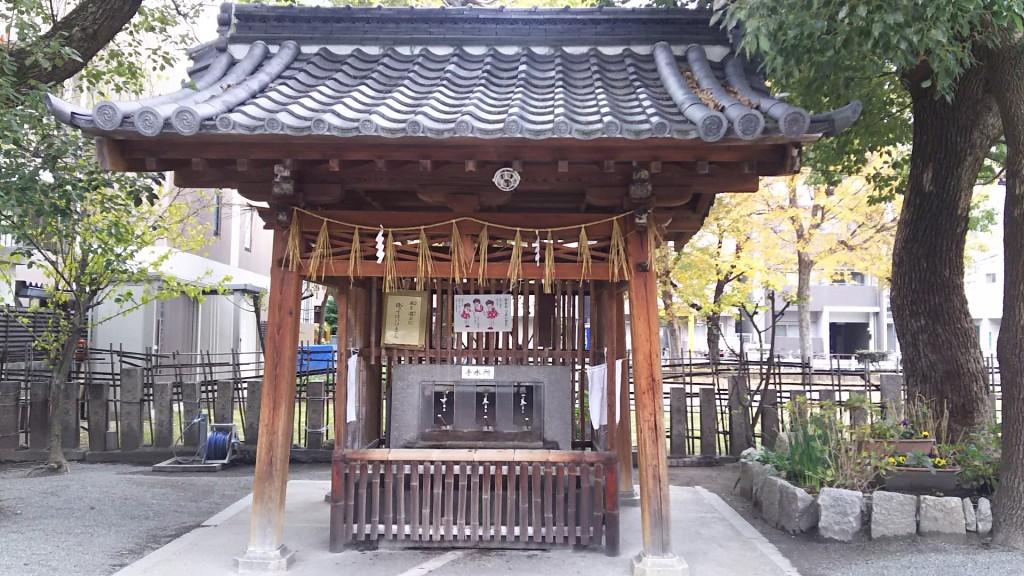 神津神社 手水所
