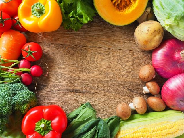 野菜のサンプル