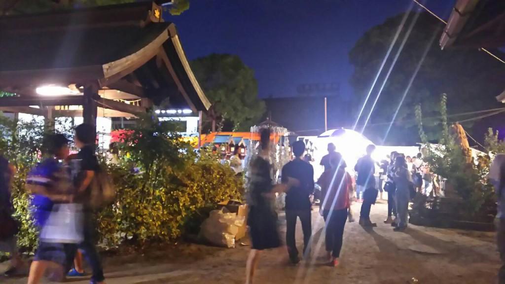 香具波志神社 夏祭