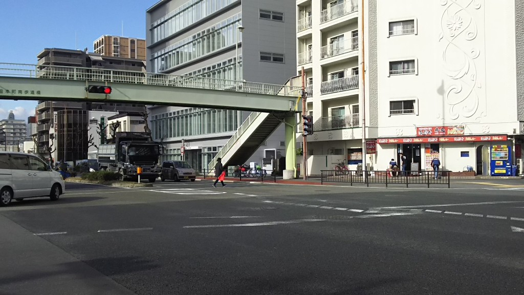 丼丸 三国店 三国本町歩道橋