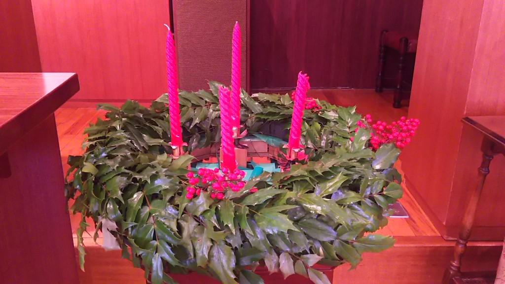 大阪東十三教会 クリスマスリース