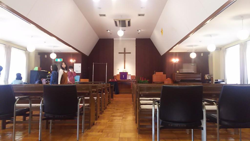 大阪東十三教会 聖堂