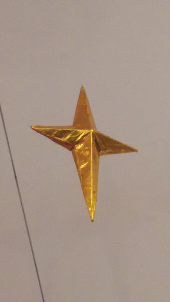 愛光文庫 クリスマス会 星の飾り