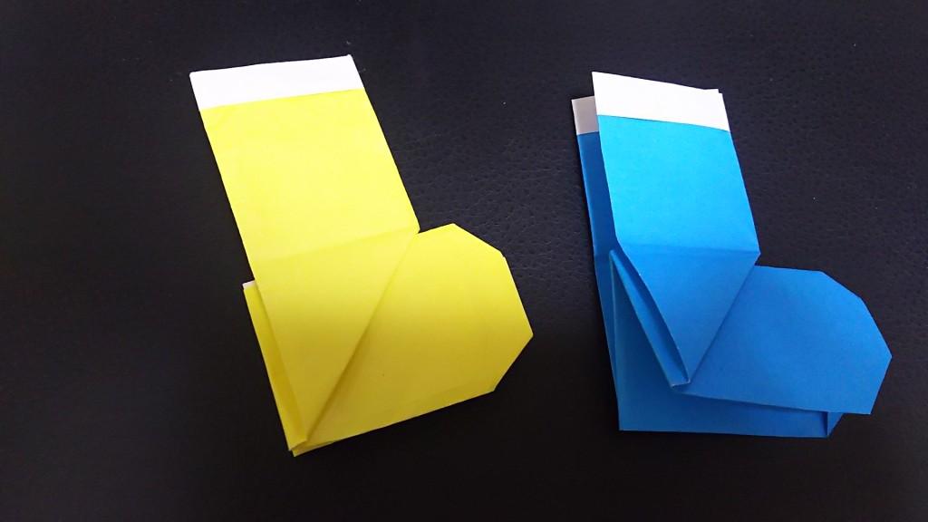 折り紙 長靴