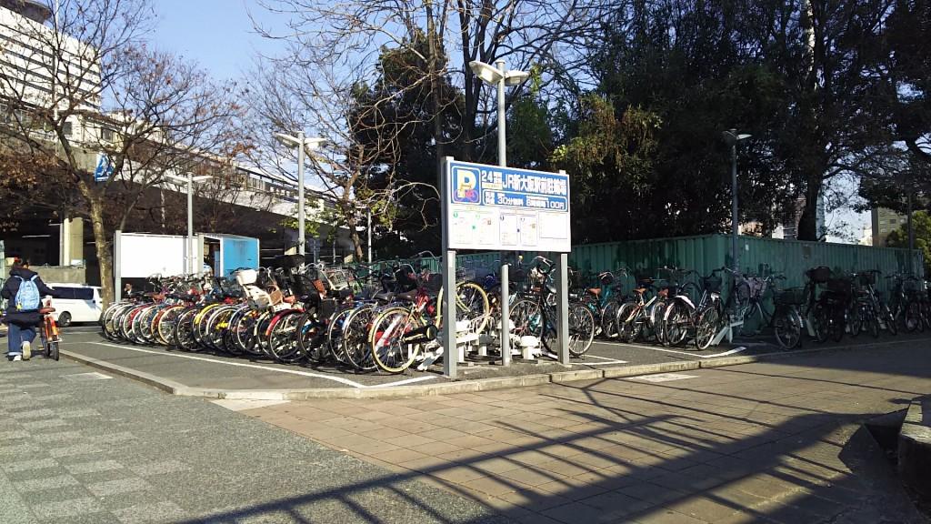 JR新大阪駅前駐輪場 外観