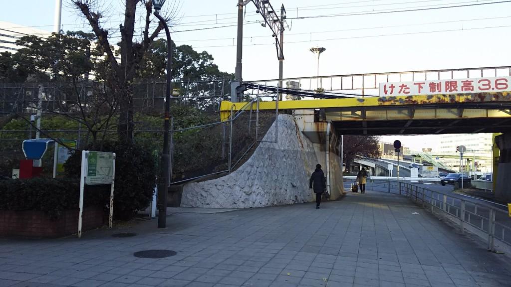新大阪駅南口 自転車駐輪場 東端