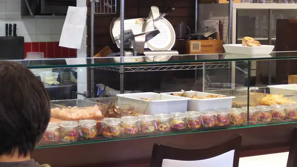 トラットリアチェーロ 店内 厨房