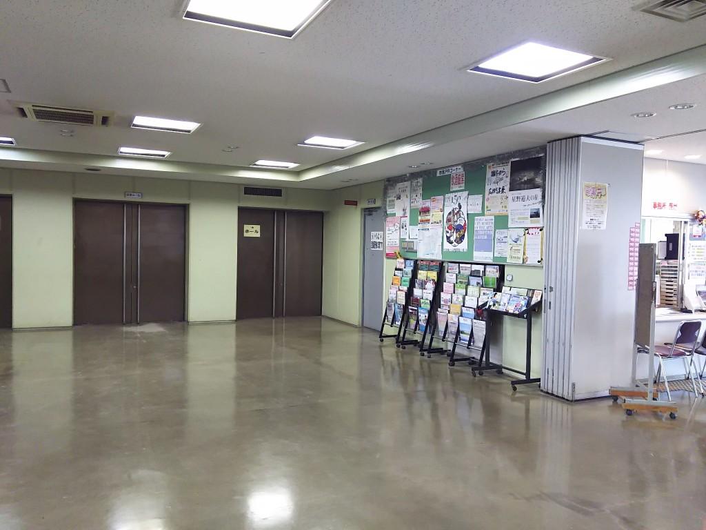 淀川区民センター 1Fホール 外観