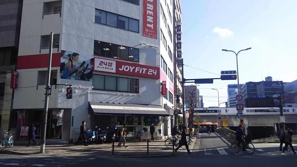 モジュール新大阪と横の地下道