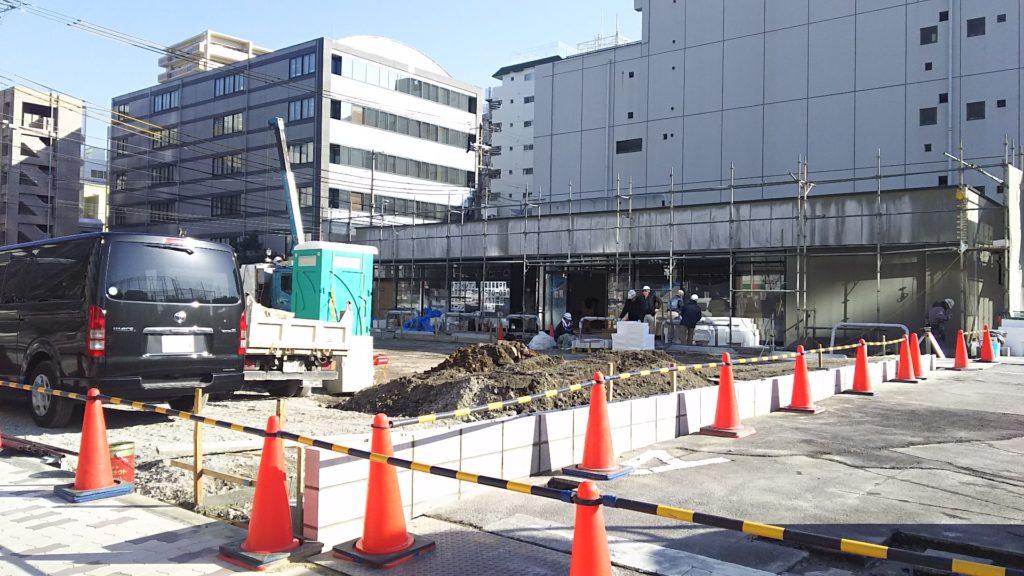 セブンイレブン 宮原4丁目店 工事中 外観