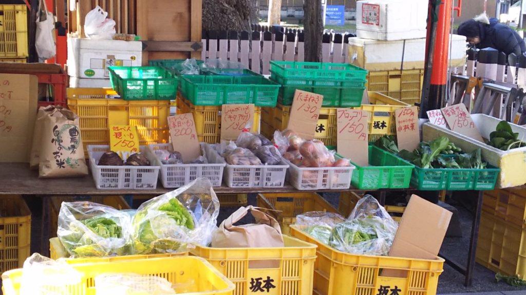 十三市 野菜販売