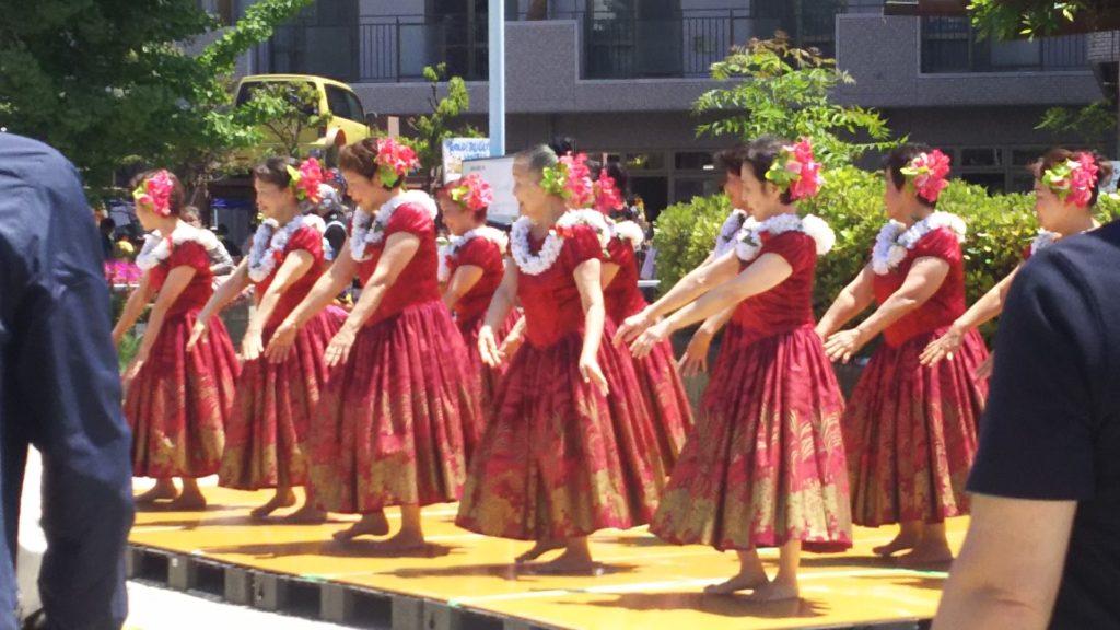 春まつり フラダンス 神津女性会