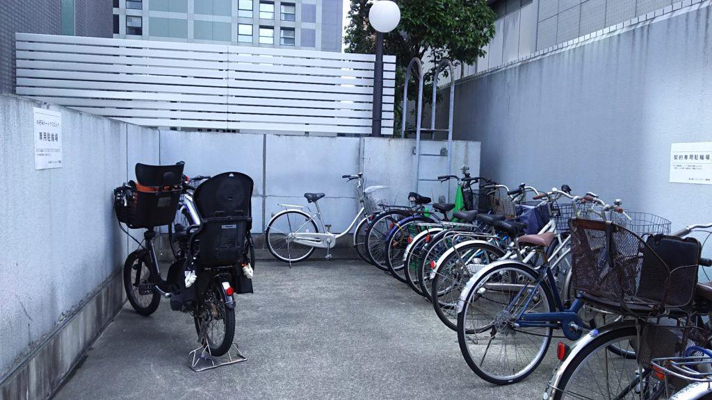 新大阪トラストタワー 自転車置き場