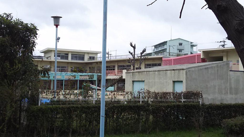 加島第一保育園 園庭