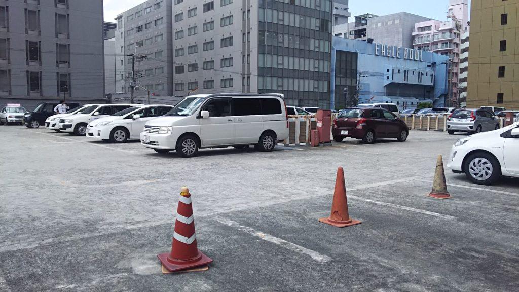 蔦屋 新大阪店 屋上駐車場
