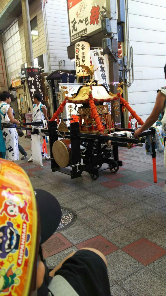 塚本神社 夏祭 2016 神輿