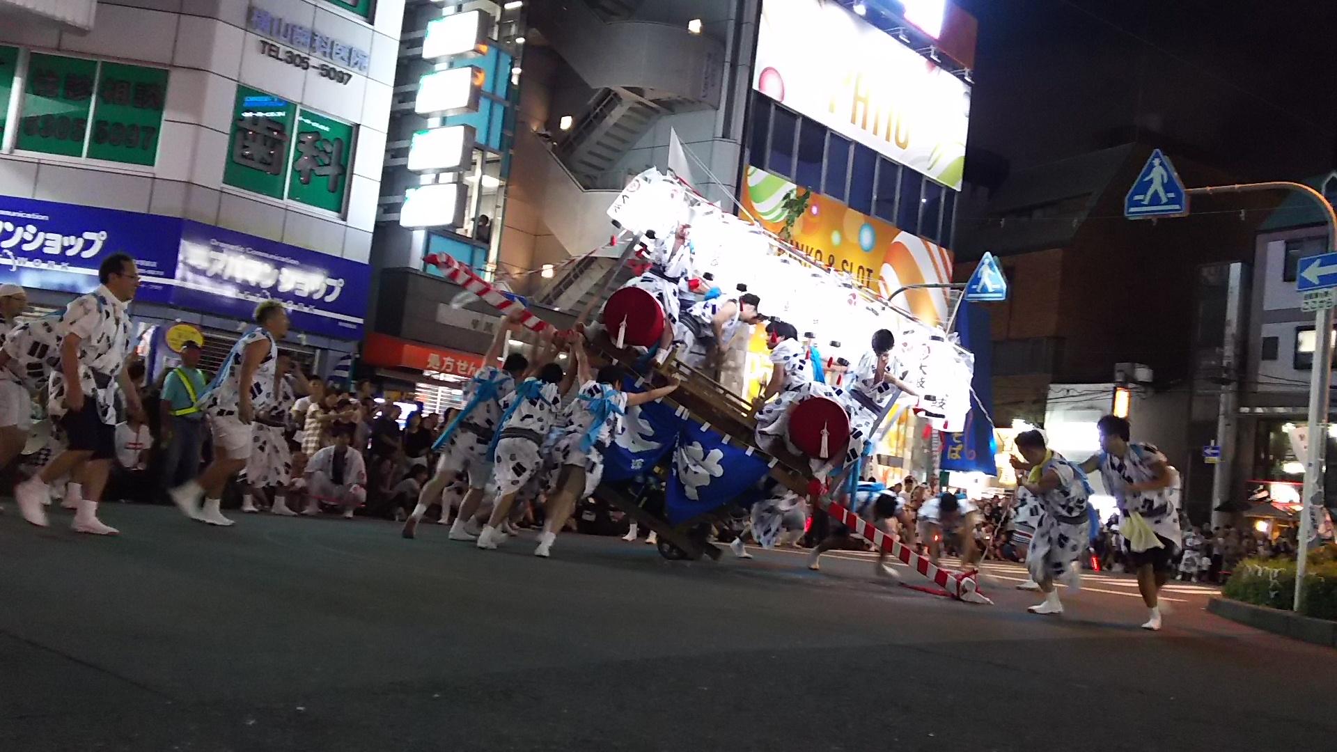塚本神社 駅前太鼓 あばれ神輿
