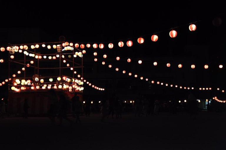西中島小学校 盆踊り 2018
