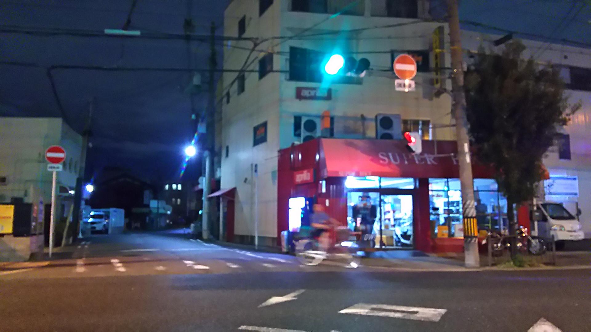 セブンイレブン 大阪加島3丁目店 に向かう交差点 北側を向いて