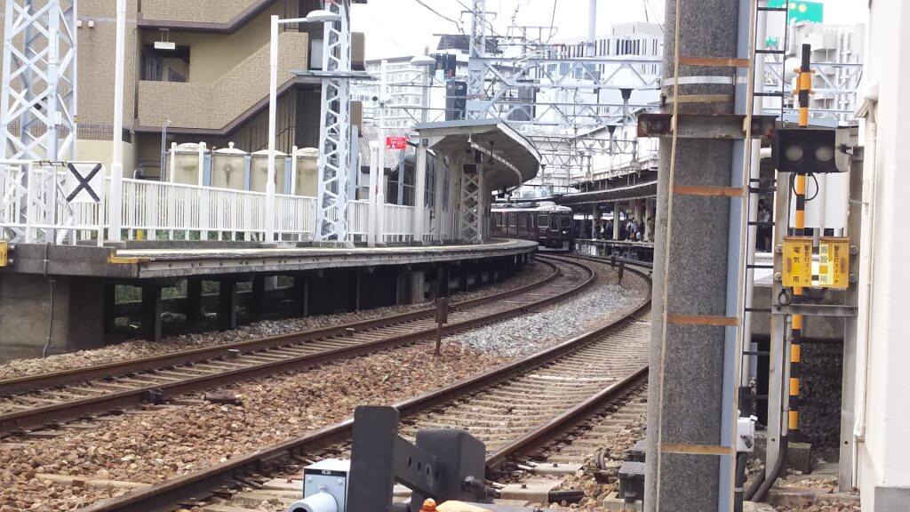 阪急 十三駅 京都本線 ホーム