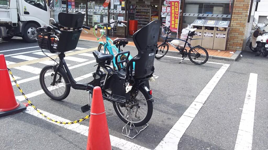 セブンイレブン 大阪木川西 淀川通り店 駐輪場