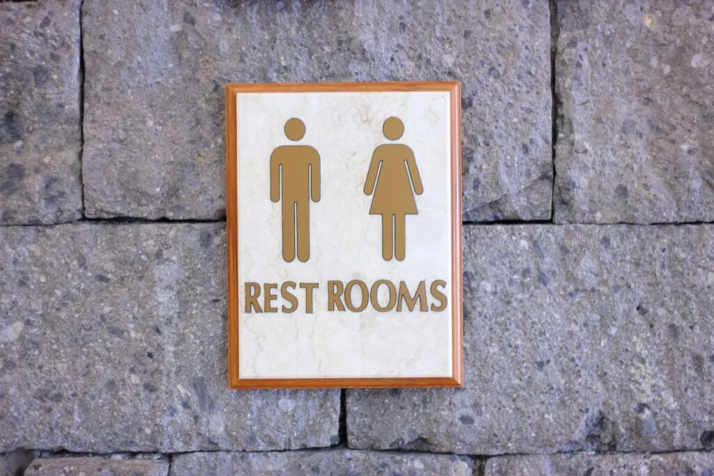 トイレの 表示