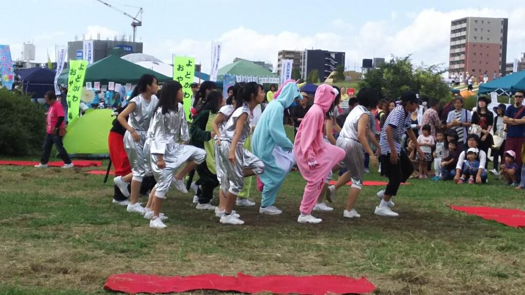 第17回 よどがわ河川敷フェスティバル パフォーマンスひろば ダンス