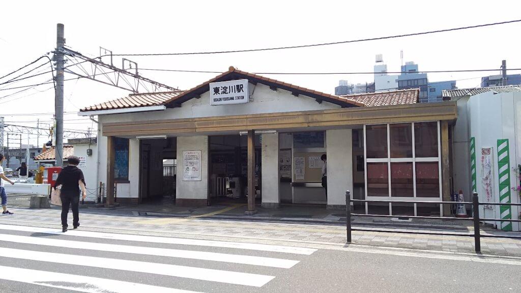 JR東淀川駅 西口 駅舎