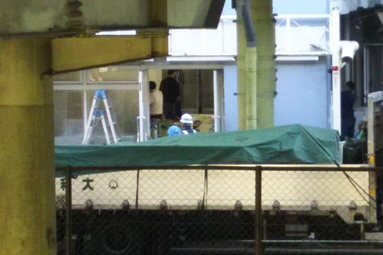 ローソンストア100 淀川宮原店 跡地 正面