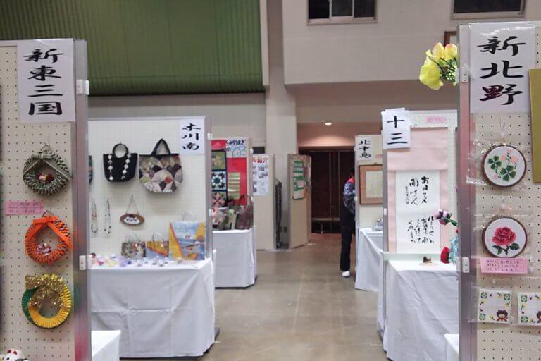 文化祭 作品展 2017 会場の様子