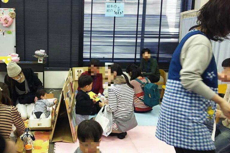 よどママフェス 2018 赤ちゃん絵本コーナー
