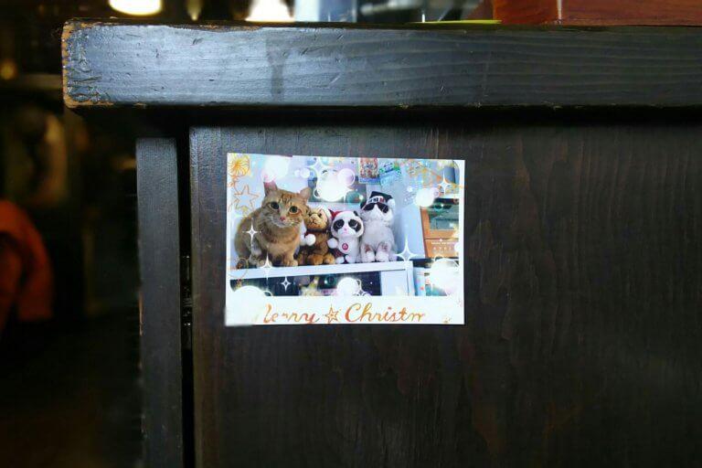 喫茶 文化茶屋 ホテルぬこ写真展 入り口の写真