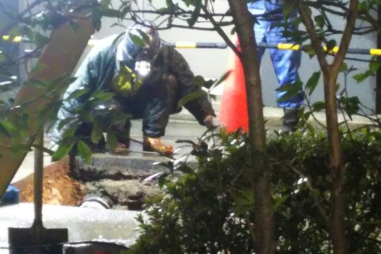 淀川区 公道 漏水