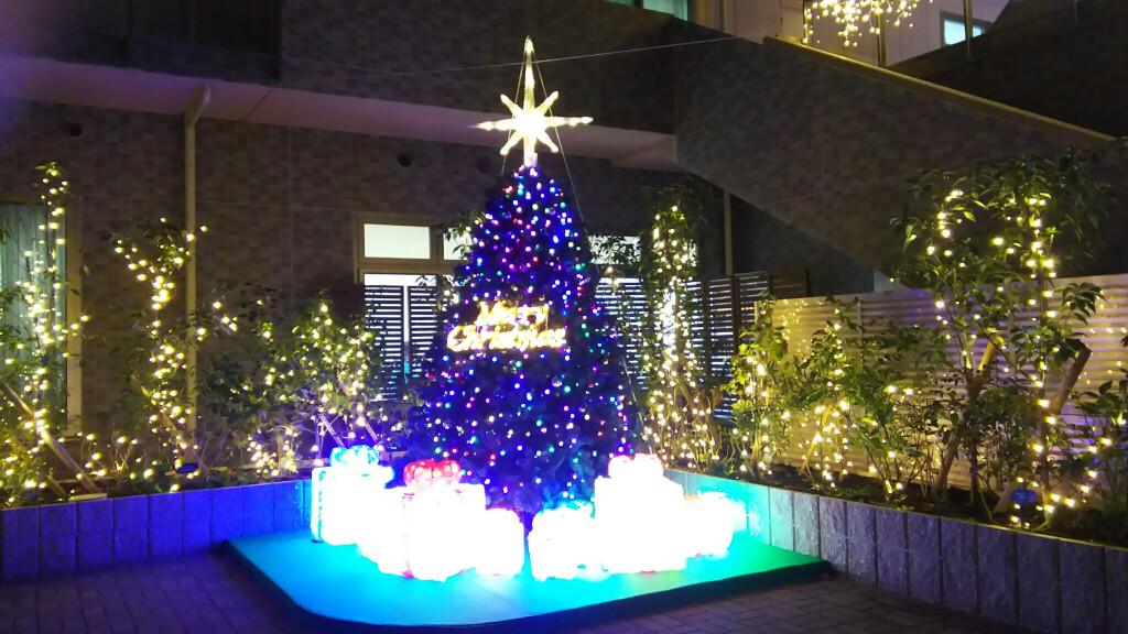 イルミナガーデン クリスマスツリー
