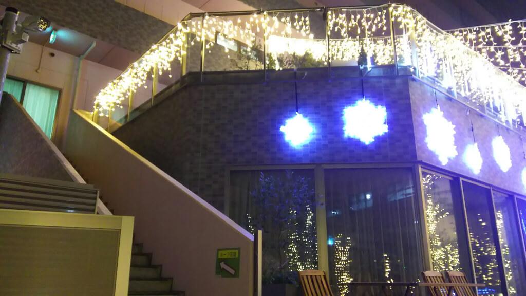 イルミナガーデン 2階への階段