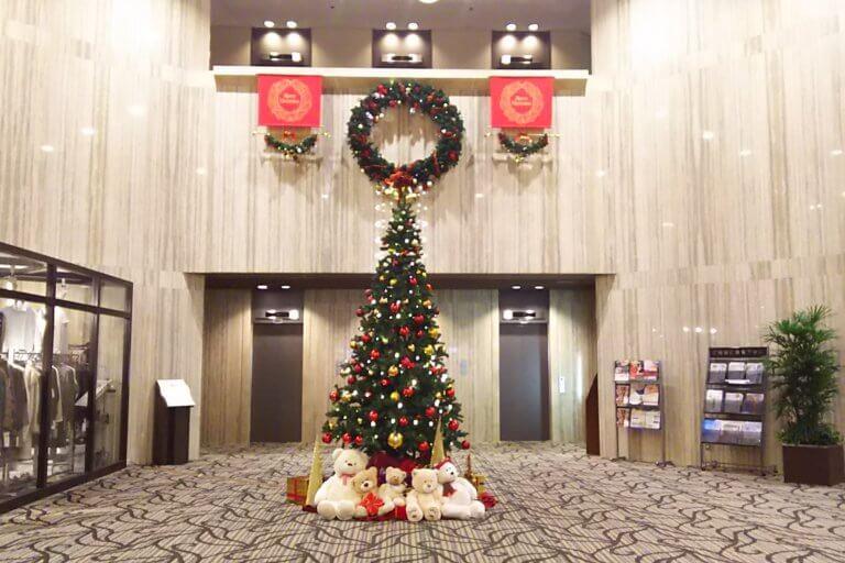 大阪ガーデンパレス クリスマスツリー