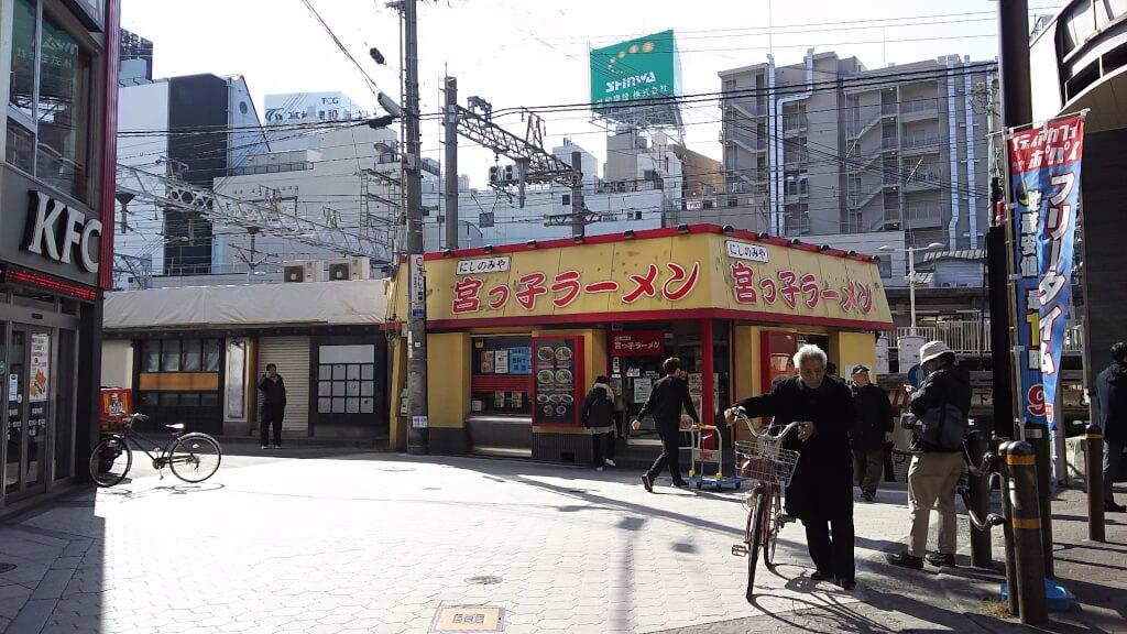 阪急十三駅前 宮っ子ラーメンと 阪急そば 跡地