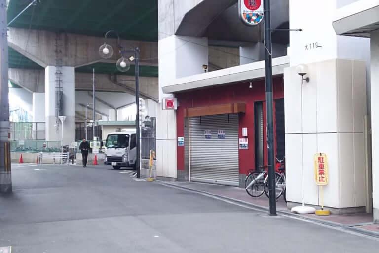 姫島ラーメン 朧 跡地 駅前から店舗