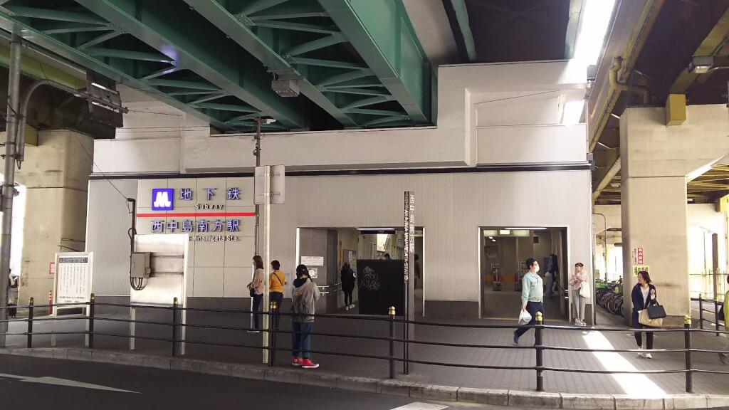 大阪メトロ 御堂筋線 西中島南方駅 北口