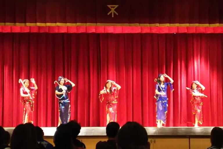 PTA おやこフェスティバル 2018 ベリーダンス