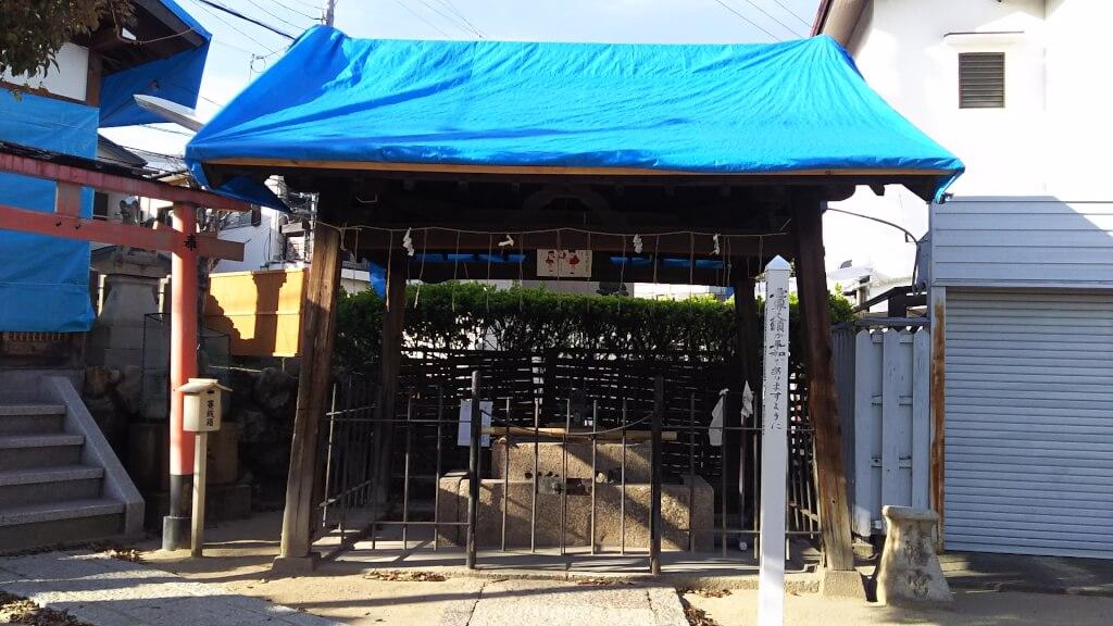 大和田 住吉神社 手水舎