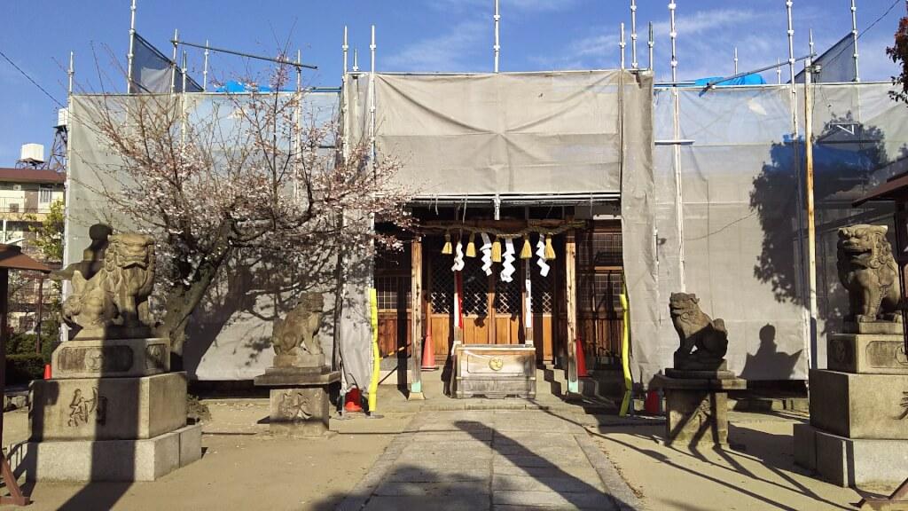 大和田 住吉神社 拝殿
