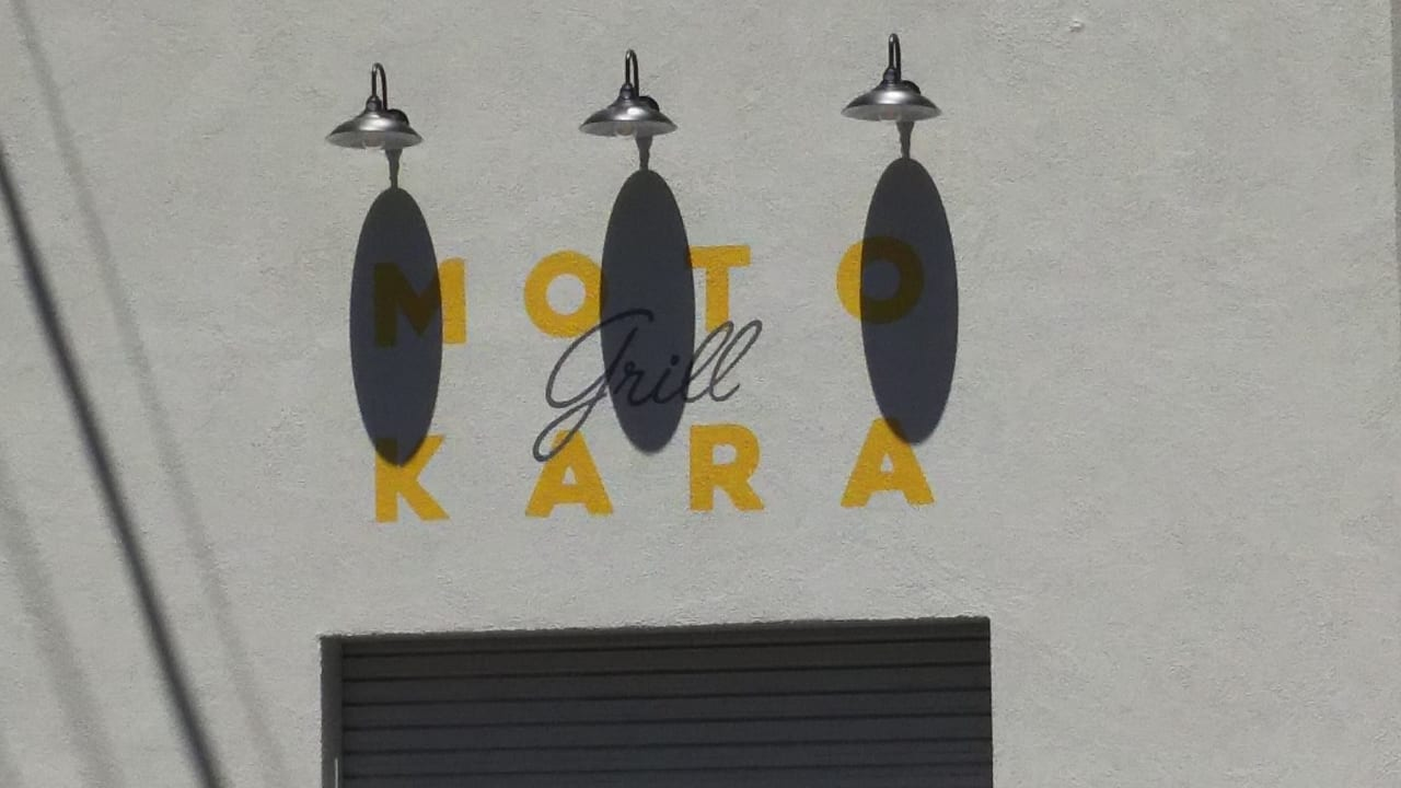 グリル モトカラ 店舗ロゴ