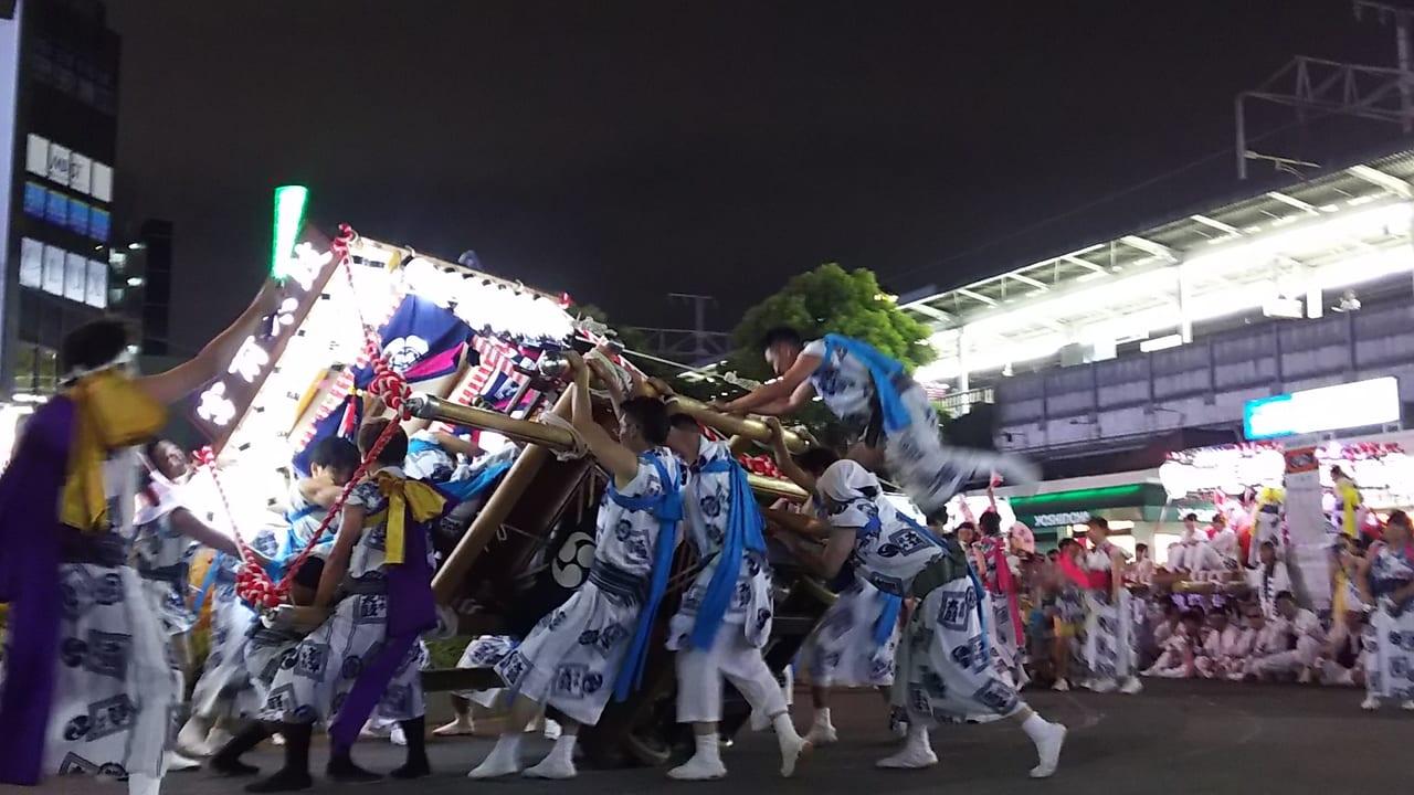 塚本神社 夏祭り 2018年 暴れ神輿