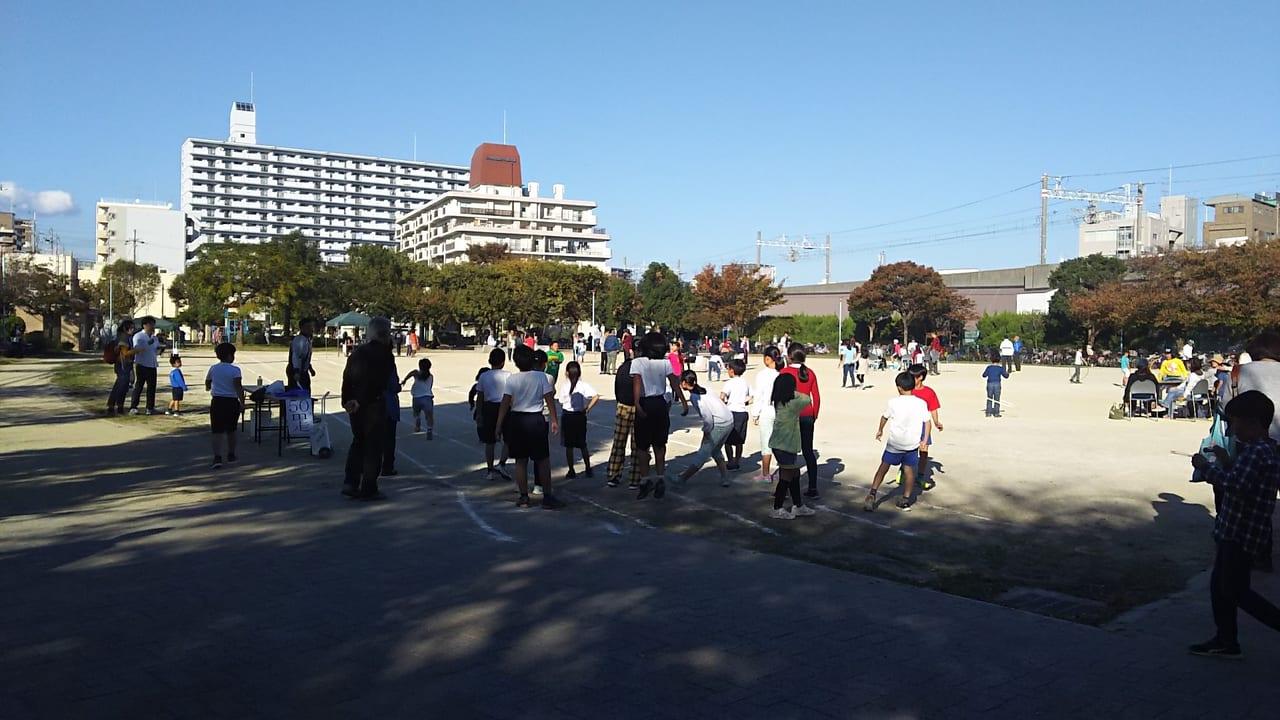 第37回 こども文化のまつり 野中南公園でのスポーツの秋