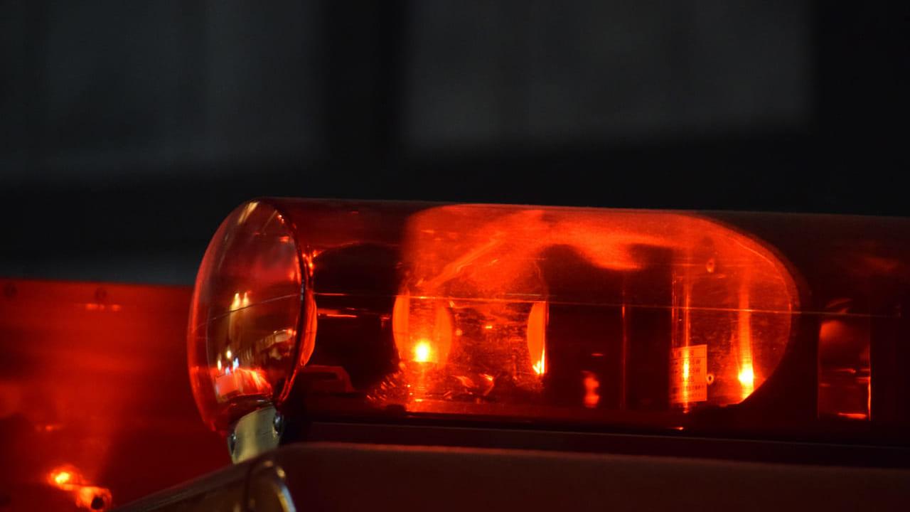 加島車両火災