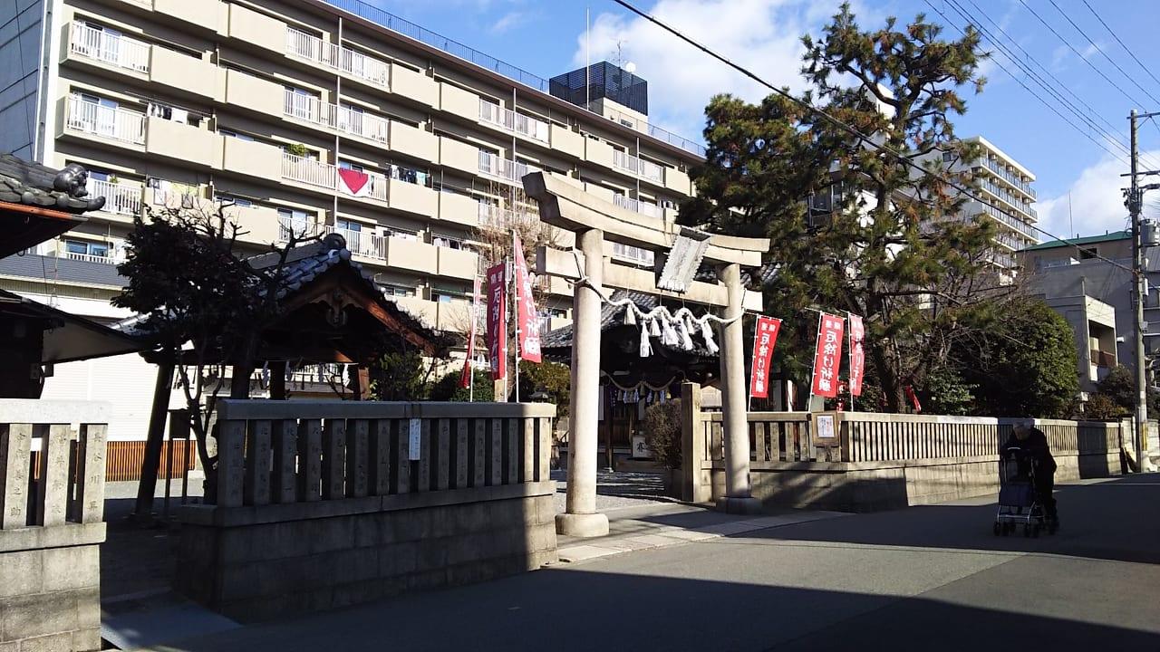 塚本神社 鳥居